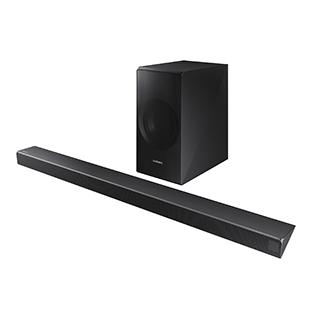 Système de barre sonore 340W avec caisson d'extrêmes graves