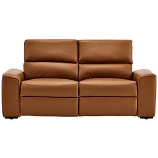 Sofa en cuir contemporain