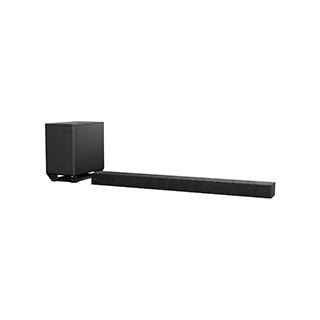 Système de barre sonore avec caisson d'extrêmes graves sans fil