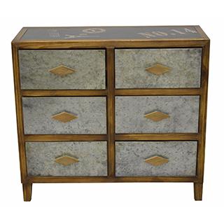 Cabinet 6 tiroirs