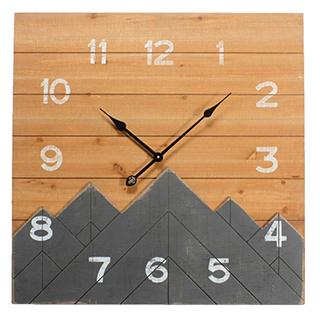 Horloge Montagne 28X28