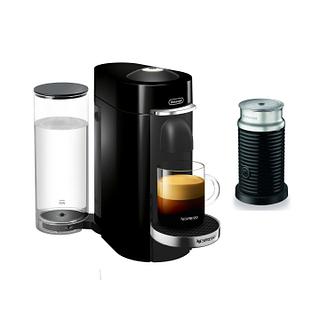 Machine à café VertuoPlus Deluxe de Nespresso-Noir