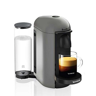 Machine à café VertuoPlus de Nespresso-Gris