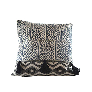 Coussin broderie