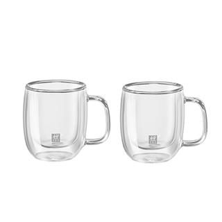 2 verres à espresso 134ml