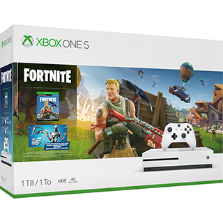 CONSOLE 1TB/MAN./JEU FORTNITE