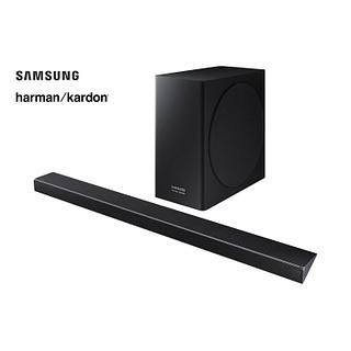 Système de barre sonore 332W avec caisson d'extrêmes graves sans fil SAMSUNG harman/kardon
