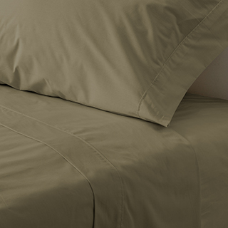 Ensemble de draps Percale lit double