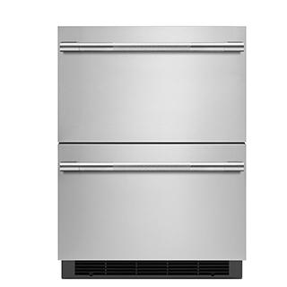 Tiroir réfrigérant double 24po