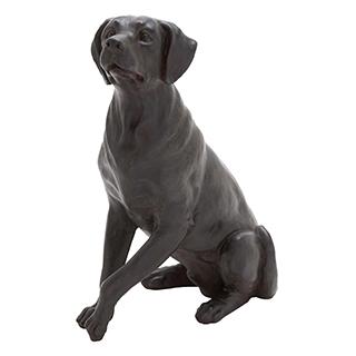 Sculpture de chien