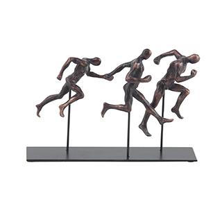 Sculpture coureurs