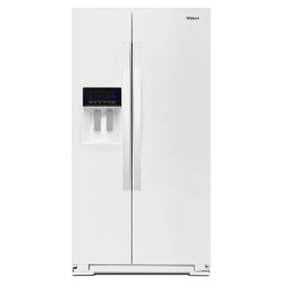 Réfrigérateur côte à côte 21 pi.cu.