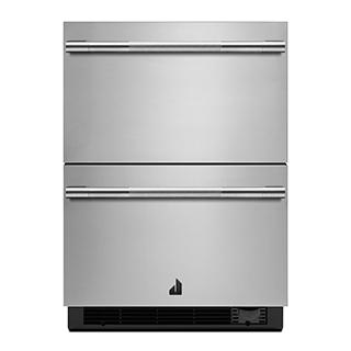 Tiroir réfrigérateur/congélateur double 24po