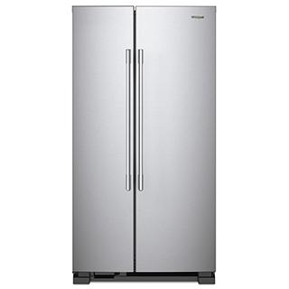 Réfrigérateur côte à côte 25 pi.cu.