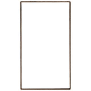 Miroir horizontal (merisier)