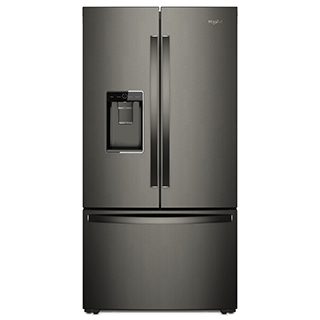 Réfrigérateur à double porte 24 pi.cu.
