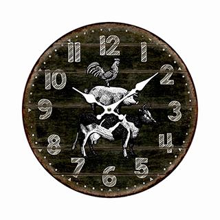 Horloge maison de ferme