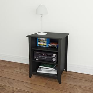 Cabinet de rangement audio