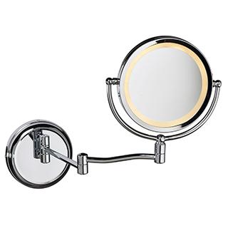 Miroir grossissant éclairé à DEL