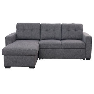 Sofa-lit en tissu