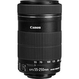 Objectif photo EF-S 55-250MM