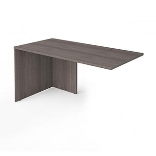Table retour  - Gris Écorce