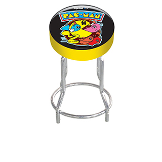 Tabouret ajustable Pac Man