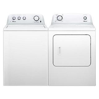 Ensemble laveuse haute-efficacité et sécheuse
