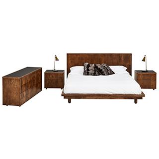 Mobilier de chambre à coucher King très grand 2 places