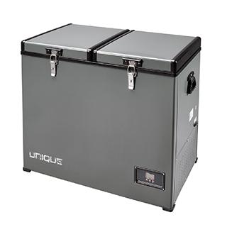 Réfrigérateur 4,2 pi3 portatif et compact 110V/24V/12V panneau solaire en option