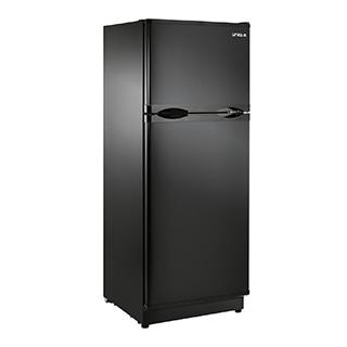 Réfrigérateur 10,3 pi3 à congélateur en-haut 12V/24V panneau solaire en option