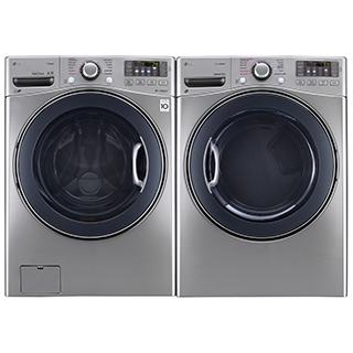 Duo laveuse et sécheuse frontal à vapeur