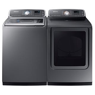 Duo laveuse et sécheuse à vapeur