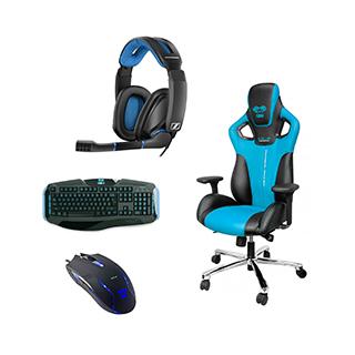 Ensemble chaise, clavier et souris Cobra