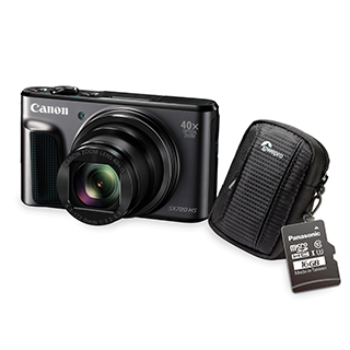 Appareil photo numérique 20,3MP vidéo 1080P étui et trépied