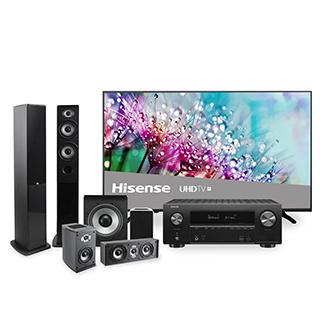 Ensemble audio/vidéo Hisense