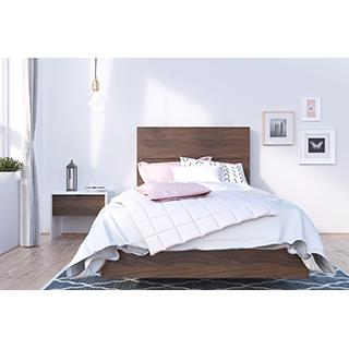 Chambre à coucher simple 3 pièces identi-t
