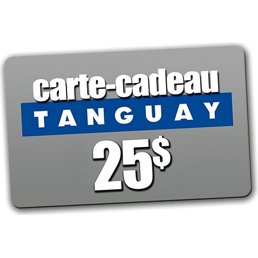 Carte cadeau Tanguay 25$ Collection Tanguay
