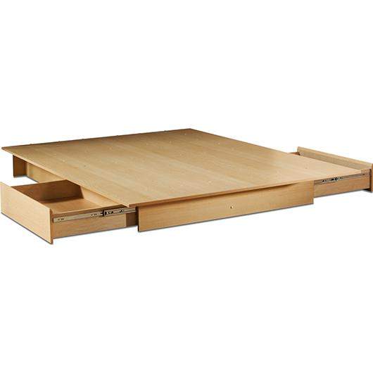 Lit Plateforme 54 60 Po Design Contemporain Tanguay