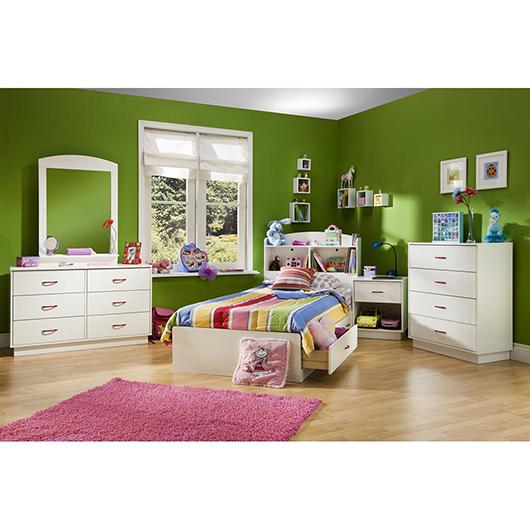 lit matelot simple avec 2 tiroirs tanguay. Black Bedroom Furniture Sets. Home Design Ideas