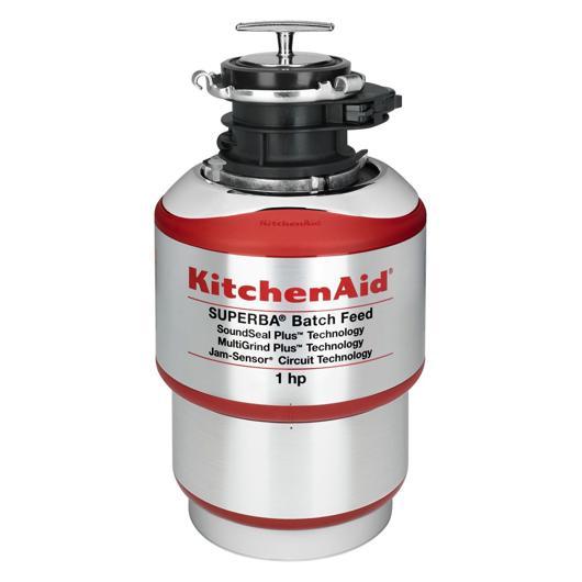 Broyeur à déchets à traitement par lot de 1 hp KitchenAid