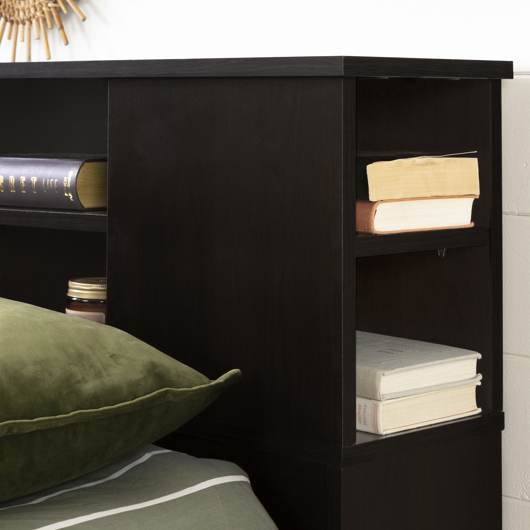 t te de lit biblioth que double queen tanguay. Black Bedroom Furniture Sets. Home Design Ideas