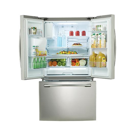 Réfrigérateur à double porte 25.6 pi.cu. Samsung