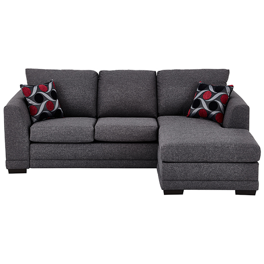 Sofa tissu design contemporain Meubles Belisle