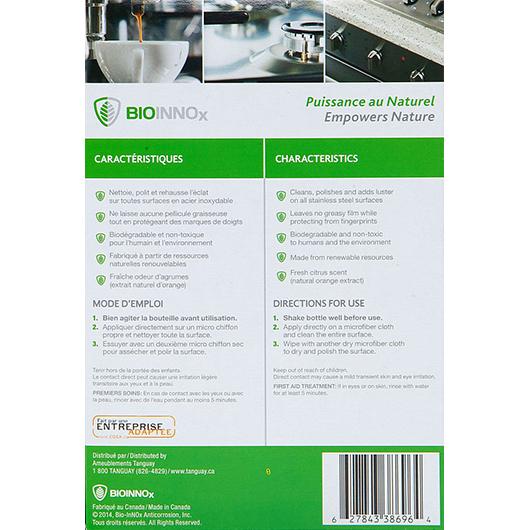 Nettoyant et lustre pour acier inoxydable 500ml