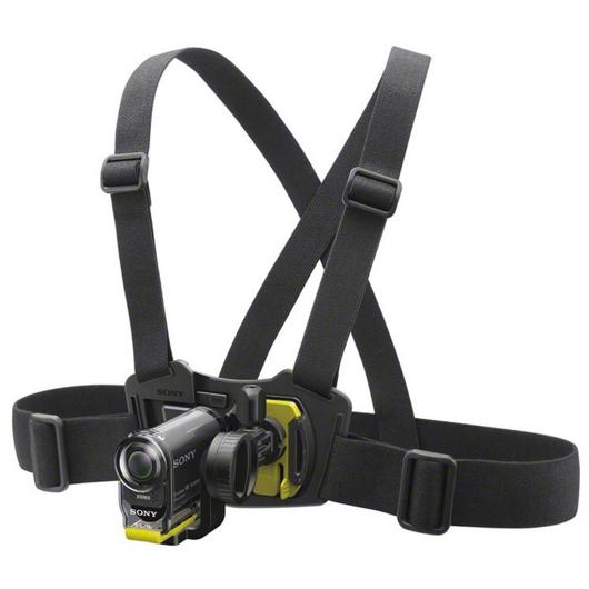 Harnais de poitrine pour caméscope Action Sony