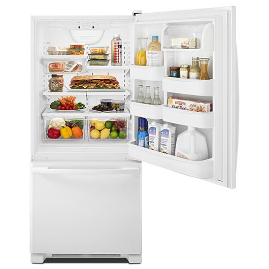 Réfrigérateur 18.5 pi.cu. congélateur en bas Amana