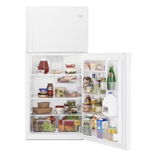 Réfrigérateur 19.2 pi.cu. congélateur en haut Whirlpool