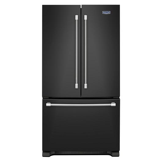 R frig rateur double porte 22 1 pi3 tanguay - Refrigerateur noir 1 porte ...
