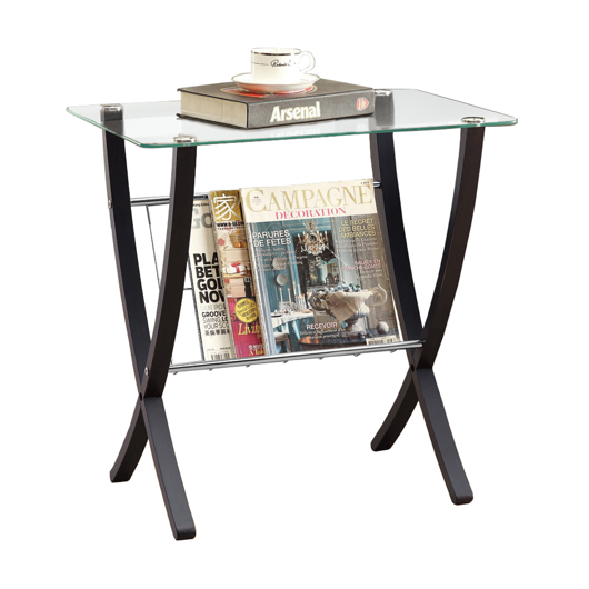 table d 39 appoint style moderne tanguay. Black Bedroom Furniture Sets. Home Design Ideas